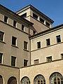 074 Seminari Nou, rda. Francesc Camprodon (Vic), pati oest, angle nord-oest.jpg