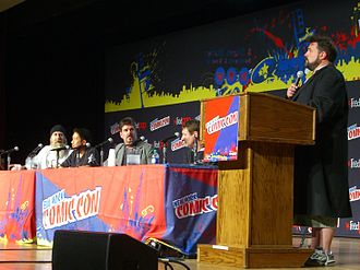Kevin Smith - Smith and the cast of Comic Book Men at the New York Comic Con