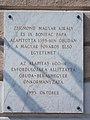 10 Szentlélek Square, plaque (1995), 2020 Óbuda.jpg