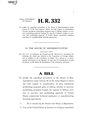 116th United States Congress H. R. 0000332 (1st session) - Arms Sale Oversight Act.pdf