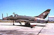 122d Tactical Fighter Squadron North American F-100D-75-NA Super Sabre 56-3171