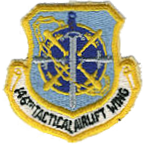 Van Nuys Air National Guard Base - Emblem of the California Air National Guard 146th Tactical Airlift Wing (1966-1990)