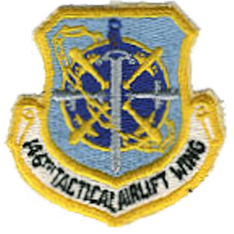 Van Nuys Air National Guard Base - Emblem of the California Air National Guard 146th Tactical Airlift Wing (1966-1990)