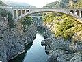 155 Près de Saint-Guilhem-le-Désert Le Pont du diable sur l'Hérault.JPG