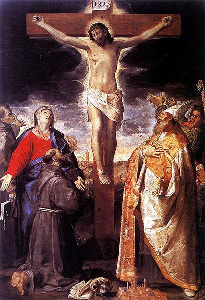 Ficheiro:1583 Annibale Caracci, Crucifixion Santa Maria della Carità, Bologna.jpg