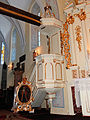160313 Pulpit of Saint Stanislaus church in Luszyn - 01.jpg