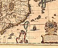 1635 Map of Formosa (Taiwan) and Surrounding Countries by Dutch 荷蘭人所繪福爾摩沙臺灣.jpeg