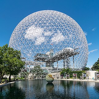 Montreal Biosphere environment museum in Montreal, Quebec