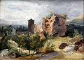 1830 Blechen Turm des Heidelberger Schlosses anagoria.JPG