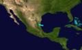 1863 Atlantic tropical storm 7 track.png