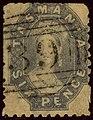 1864ca 6d grey-violet Tasmania oval 39 Mi18a Yv20aB SG64.jpg