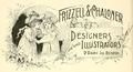 1893 Frizzell ParkSq ad BostonArtGuide Massachusetts.png