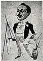 1901-05-11, Blanco y Negro, Miembros de Blanco y Negro, Xaudaró (cropped) Narciso Méndez Bringa.jpg