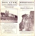 1904 Brochure of Bon Echo Inn (20667112880).jpg
