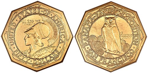 Panama–Pacific commemorative coins
