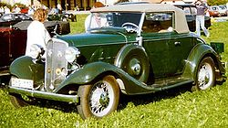 Chevrolet Master Eagle Serie CA Cabriolet (1933)