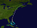 1934 Atlantic hurricane 6 track.png
