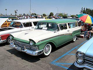 Ford Del Rio Motor vehicle