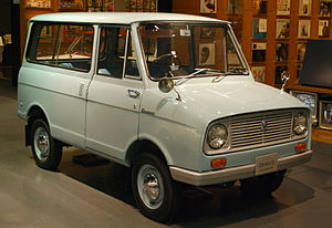 Suzuki Carry - 1964–1965 Suzulight Carry Van FBD