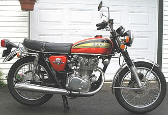 Honda CB450 - The last K7 version with hydraulic front disc brake
