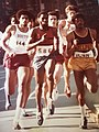 1976- Keith Francis and Bill Martin in NCAA 800m - 1 (49257815367).jpg