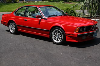 BMW 6 Series (E24) - 1988 635CSi