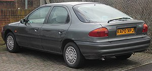 Ford Mondeo (first generation) - Liftback (pre-facelift)