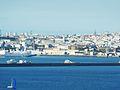 19 Le port de Brest et le centre de la ville vus de la pointe des Espagnols.JPG