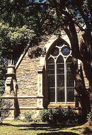 Christ Church, Lavender Bay - Image: 1 Christ Church Lavender Bay