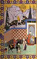1 Qasim Ali, Youssof et Zoleykhâ, Panj Ganj, 1521-22, Palais du Golestân, Iran.jpg