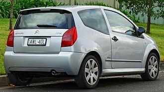 Citroën C2 - 2004–2006 Citroën C2 VTR (Australia)