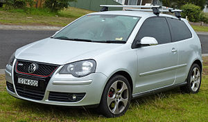 English: 2005–2010 Volkswagen Polo (9N3) GTI 3...