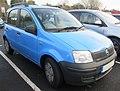 2006 Fiat Panda Active 1.1 Front.jpg