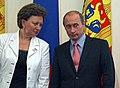 2008-06-20 Владимир Путин, Зинаида Гречаный (2).jpeg