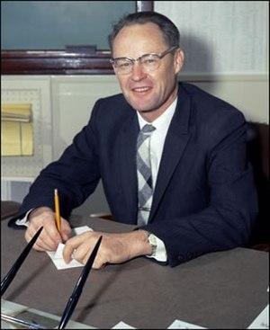 William B. McLean - Dr. William B. McLean, technical director of NOTS, China Lake, Calif., November 1960.
