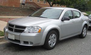 Dodge Avenger - Image: 2008 Dodge Avenger