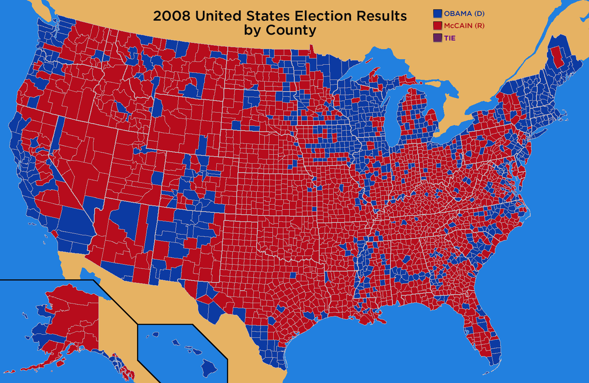 the elections in the usa in 2000 geography as the key of clintons success