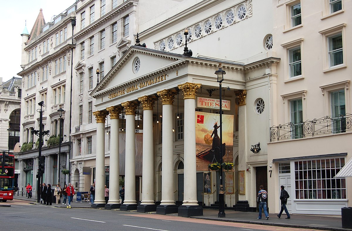 Theatre royal haymarket wikipedia for Building an estate