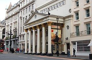 Theatre Royal Haymarket West-End theatre in London, England