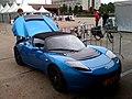 2010-06-20 Net gereden in elektrische sportwagen, de Tesla... Waanzinnig snel!.jpg