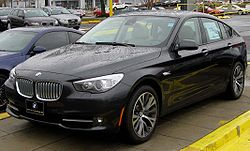 2010 BMW 5-Series Gran Turismo (US)