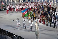 2010 Opening Ceremony - Azerbaijan entering.jpg