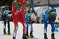 2010 Winter Olympics leading group in nordic combined NH10km.jpg
