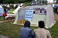 2014-06-02 Sudan Flüchtlinge Protest gegen Abschiebung, Weißekreuzplatz Hannover, (3).JPG
