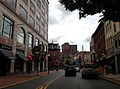 2014-08-30 10 49 13 View east along East State Street near Broad Street (U.S. Route 206 northbound) in Trenton, New Jersey.JPG