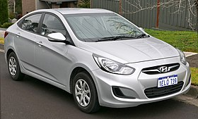 2014 Hyundai Accent (RB2 MY14) Active sedan (2015-08-07) 01.jpg