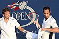 2014 US Open (Tennis) - Tournament - Michael Llodra and Nicolas Mahut (15131781315).jpg