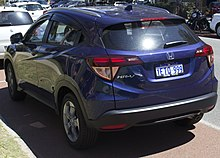 Honda HR-V - Wikipedia, the free encyclopedia