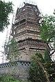 2015 Song Dynasty Pagoda at Xiangtangshan Northern Grottoes 04.jpg