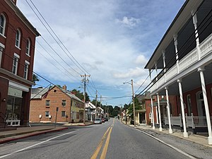 Woodsboro, Maryland - Main Street in Woodsboro